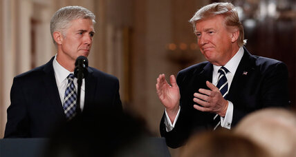 President Trump taps conservative Neil Gorsuch for Supreme Court