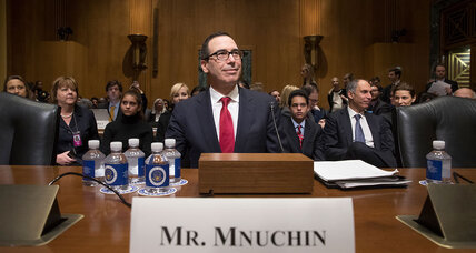 Despite Democratic boycott, Senate panel approves Mnuchin and Price