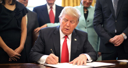 Is Trump's use of executive orders extraordinary?