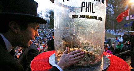 Who proclaimed the humble groundhog the 'seer of seers,' anyway?