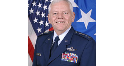 In rare move, Air Force demotes four-star general for sexual misconduct