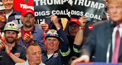 In nod to coal miners, Trump set to reverse Obama's stream protections