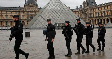 Louvre knife attacker thwarted by controversial military patrol