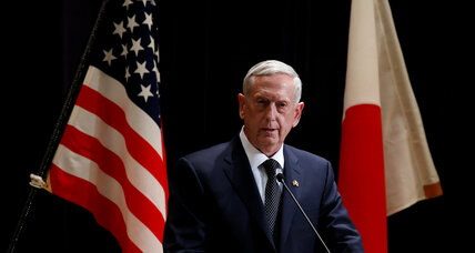 Mattis scolds China, says US stands 'shoulder to shoulder' with Japan
