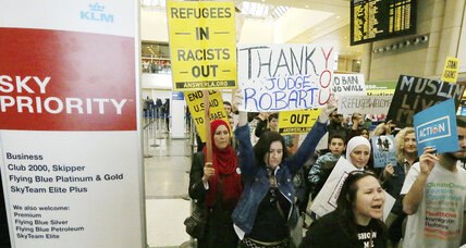 Court denies Trump request to immediately restore travel ban