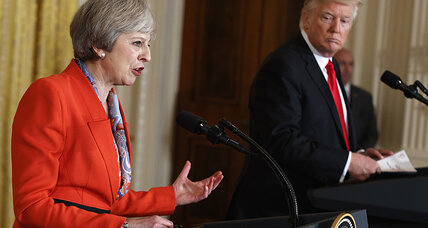Could Brexit pressures push May to surrender British 'independence' to US?