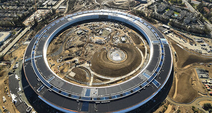Apple's new 'spaceship' campus a fitting tribute to Steve Jobs's obsessions
