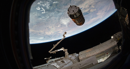 With new airlock, International Space Station widens door for commerce