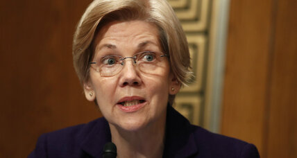 Why did Senator Warren get silenced during the Jeff Sessions hearing?