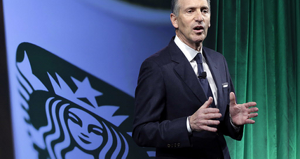 In swipe at Trump's travel ban, Starbucks sells its brand of social responsibility
