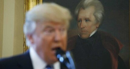 The (semi) secret history of Trump's Andrew Jackson portrait