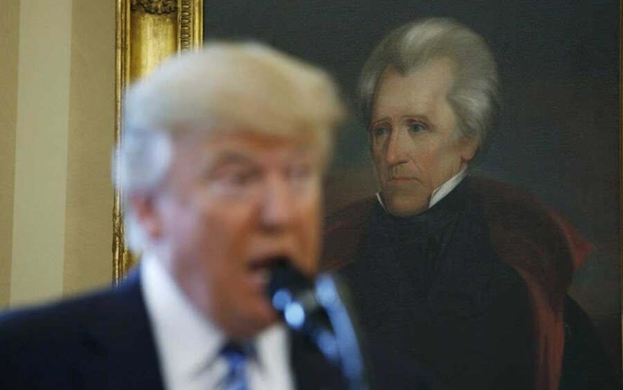 a look at the life and presidency of andrew jackson Jackson was almost seventy years old when he retired to the hermitage he found comfort in the presence of his family and relations, particularly the children of his adopted son, andrew jackson, jr.