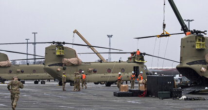 US moves helicopters into Germany as Russia worries rise