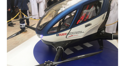 Coming soon to Dubai: A flying passenger-carrying drone
