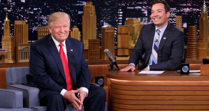 Stephen Colbert vs. Jimmy Fallon: What's the role of satire in the Trump era?