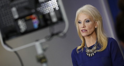 As Kellyanne Conway's credibility wanes, what should TV news shows do?