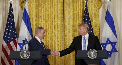 Trump takes first step to put his stamp on Mideast peace