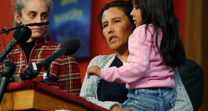 Mexican mother fleeing deportation finds refuge in Colorado church