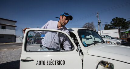 Mexico's pollution: how two entrepreneurs are driving change by embracing old cars