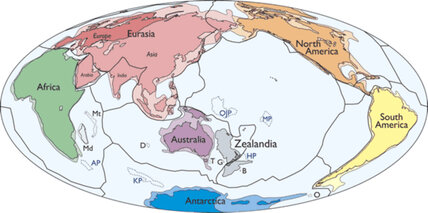 Where is Zealandia? Eighth continent discovered, underwater