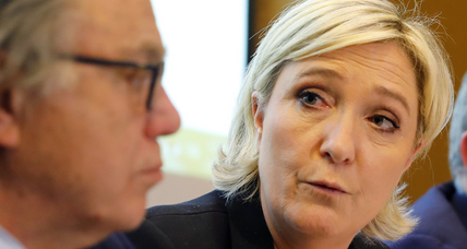 Marine Le Pen makes headlines by refusing to don veil for a meeting