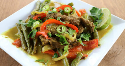 Beef curry in a hurry