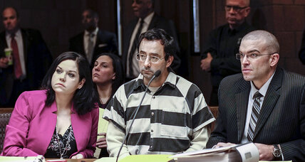 Larry Nassar, former USA gymnastic coach, is charged with sexual assault