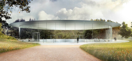The new Apple campus will have a 1,000-seat theater in honor of Steve Jobs