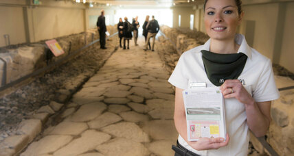 Making McHistory? Businesses step up to preserve Rome's antiquities.