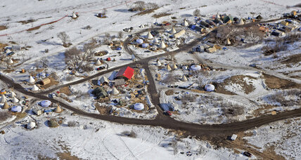 With Dakota Access camp cleared, where are protestors headed?