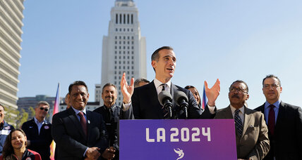 Crime, development cast shadow over LA mayor's reelection bid