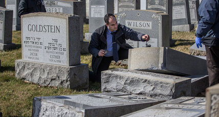 Money being raised to repair vandalized Jewish cemetery, this time in Philadelphia