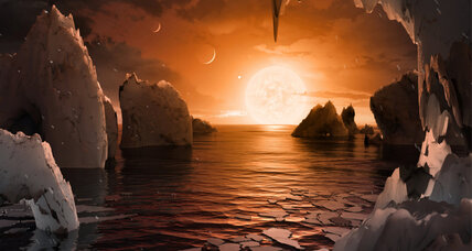 Could the TRAPPIST-1 exoplanets harbor alien life?