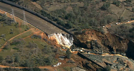 Workers begin clearing Oroville spillway debris as officials plan for the future