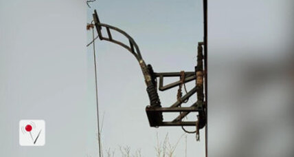 No wall too high: Authorities seize drug catapult along US-Mexico border