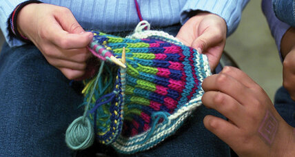 The mystery of knitting ... remains a mystery