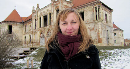 She's leading efforts to restore an iconic castle in Transylvania