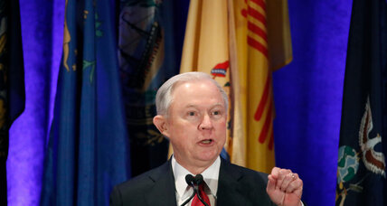 Justice Dept: Sessions spoke with Russian ambassador in 2016