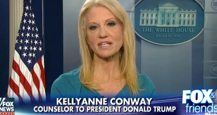 White House says no further discipline for Kellyanne Conway is needed