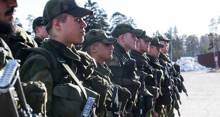 Sweden revives military draft, eyeing resurgent Russia
