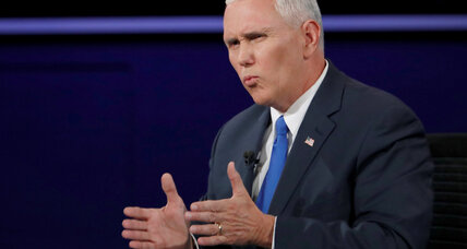 As governor, did Mike Pence use a private email server for homeland security communications?