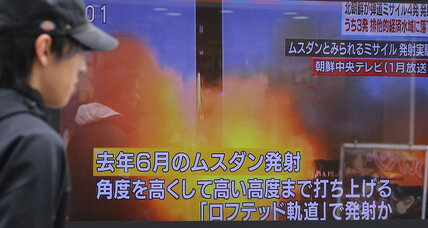 Once more, North Korea launches banned ballistic missiles into Japanese waters