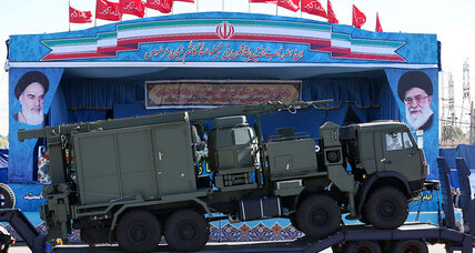 Amid rising tensions, Iran tests Russian-built missile system
