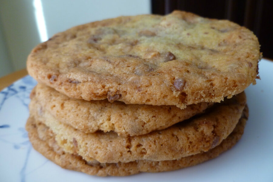 Toffee crunch cookies