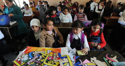 Neglected under ISIS, schools in eastern Mosul overflow with students once again