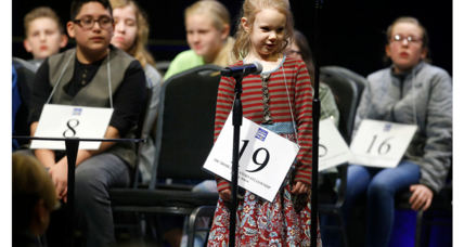 'She really has a knack': 5-year-old is youngest spelling bee contestant ever