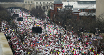 Where 'A Day Without a Woman' marches will be held in the US today