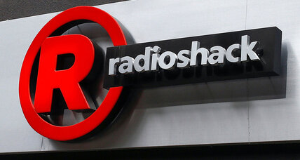 What pushed Radio Shack into bankruptcy?