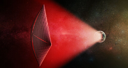 Are distant radio bursts in space signs of alien sailors?