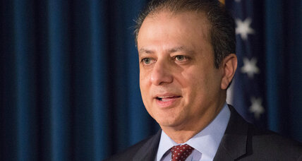 Why did the Trump administration fire US Attorney Preet Bharara?